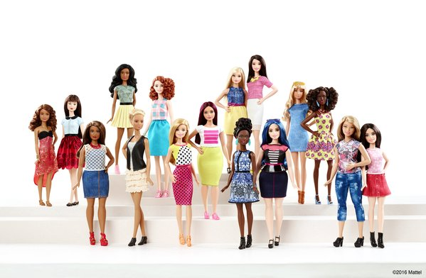 Barbies Fashionistas Set
