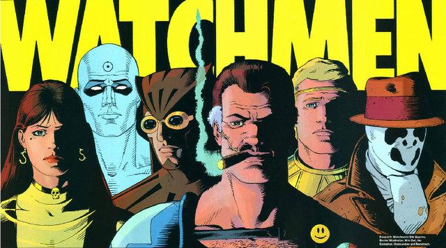 Imagen de la novela gráfica Watchmen