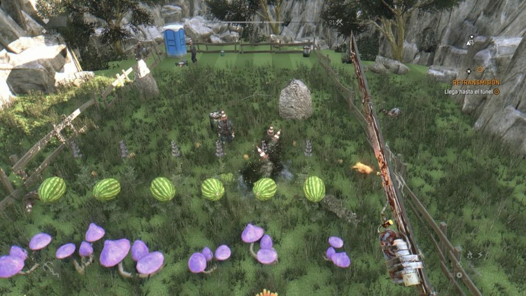 Easter Egg de Plants VS Zombies en Dying Light. Compartido mediante el botón Share de PS4.