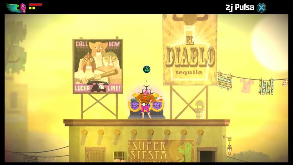 Hotline Miami Easter Egg en Guacamelee, un muy buen juego con muchas referencias a otros juegos y obras