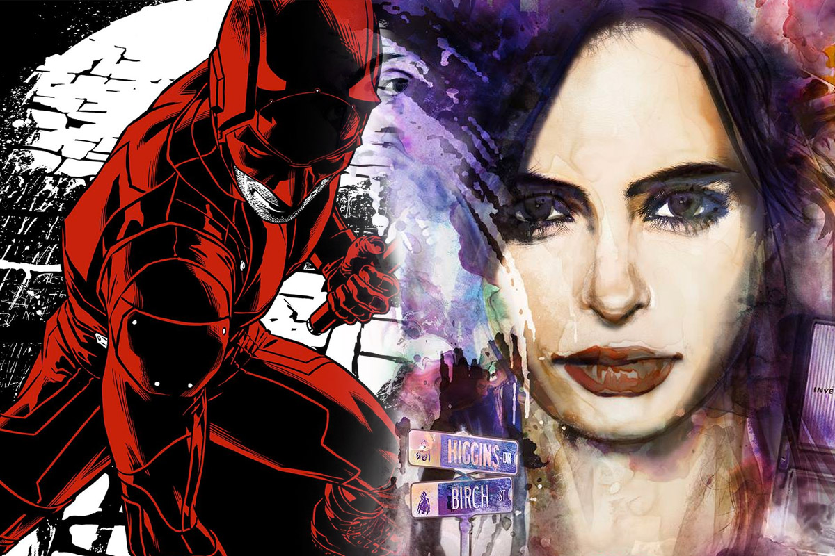 Daredevil Jessica Jones