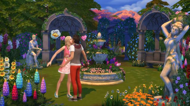 The Sims: Romantic Garden Stuff