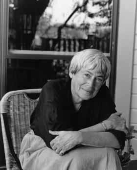 Ursula K le Guin, autora de fantasía y ciencia ficción