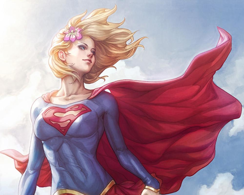 Supergirl por Stanley Lau (ArtGerm)