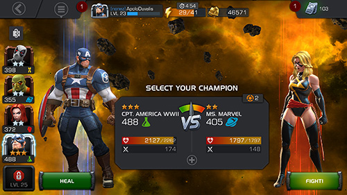 Marvel Contest of Champions .apk tusfiles