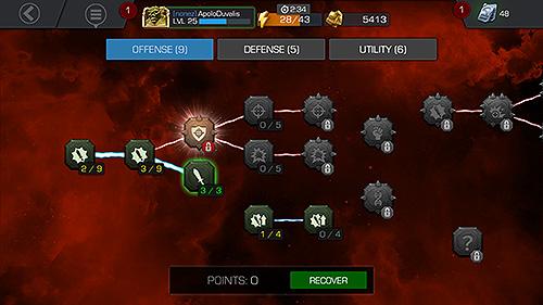 Árbol de maestrías del perfil del jugador