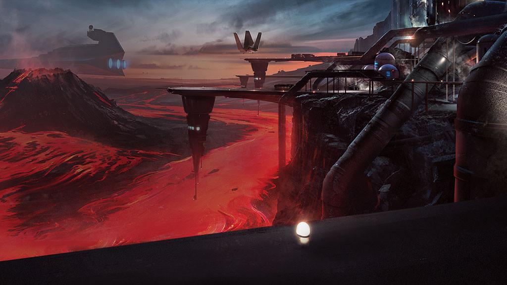 De nuevo podremos combatir en el planeta Sullust, pero ahora en un mapa completamente nuevo.