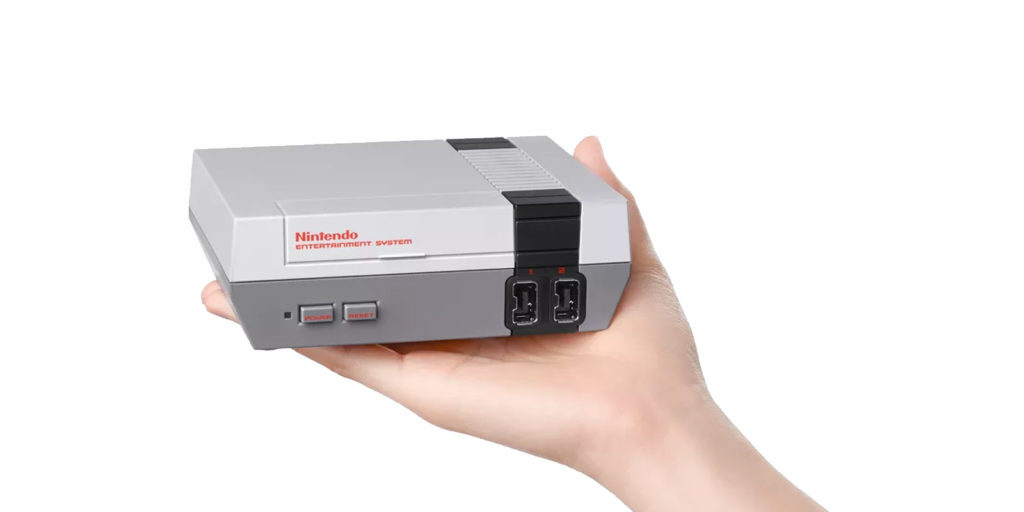 mini NES Header