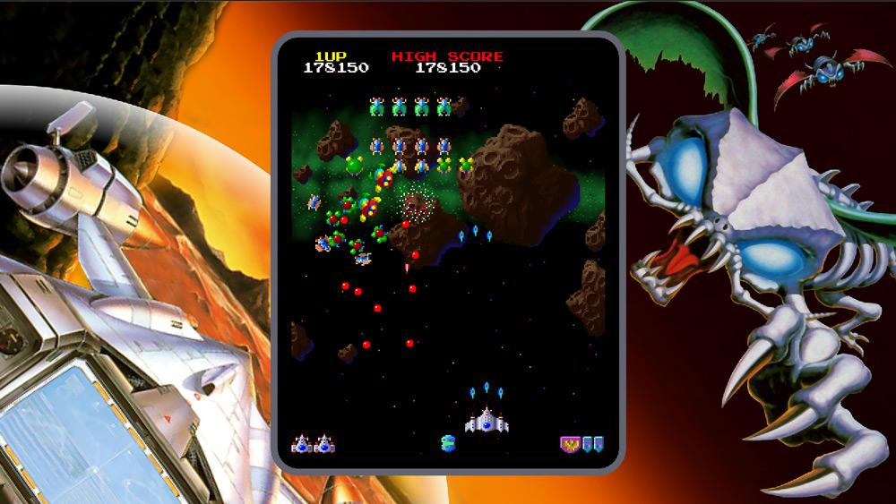 Clásicos del Arcade en el Namco Museum para la Nintendo Switch