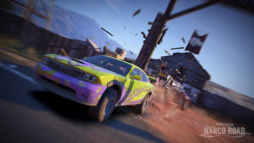 """El 18 de abril, quienes tienen el Season Pass de Ghost Recon Wildlands tendrán acceso temprano a """"Narco Road"""" el primer DLC del juego."""