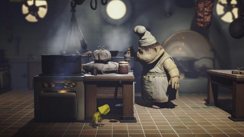 La cocina de Little Nightmares