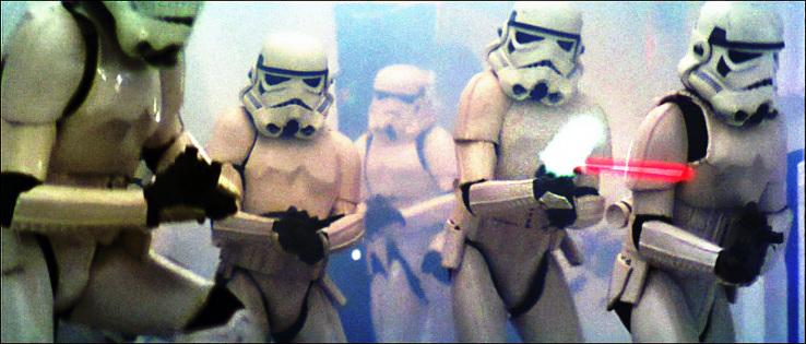 Stormtroopers en Star Wars (1977)