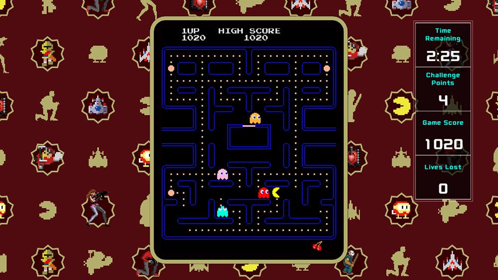 Pac-Man VS Namco Museum