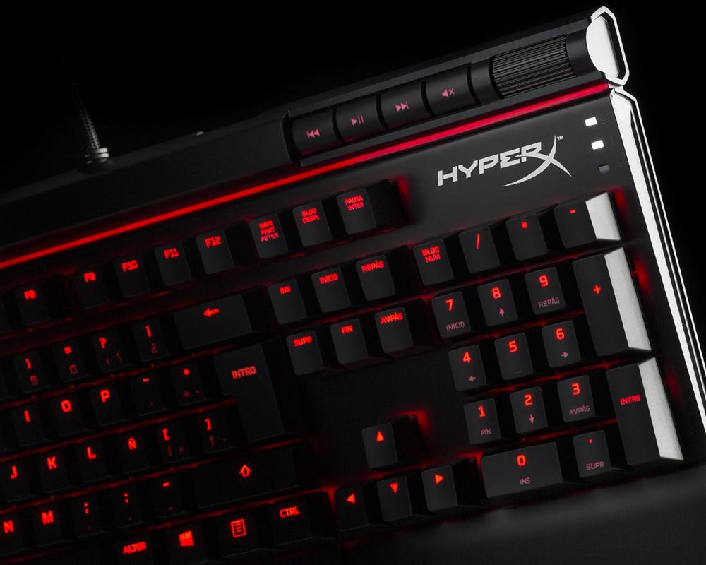 HyperX Teclados Mecánicos