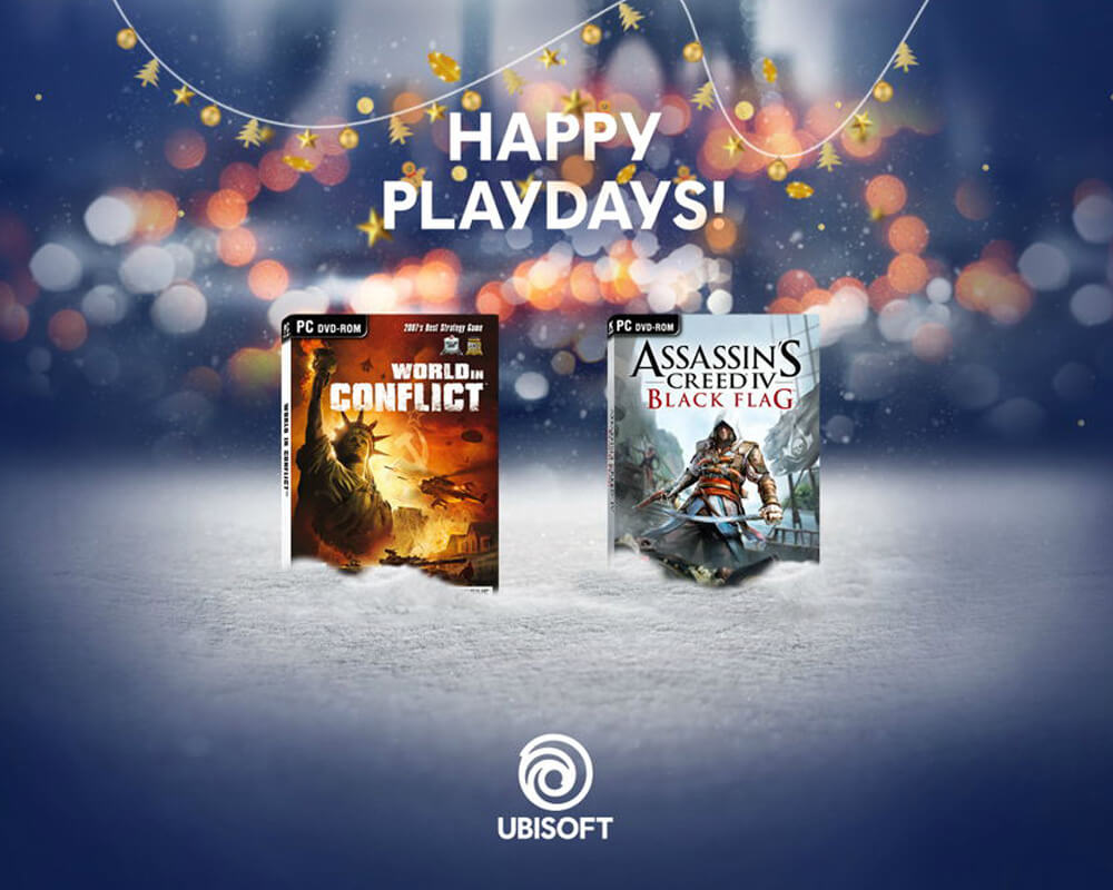 Ubisoft Happy Playdays