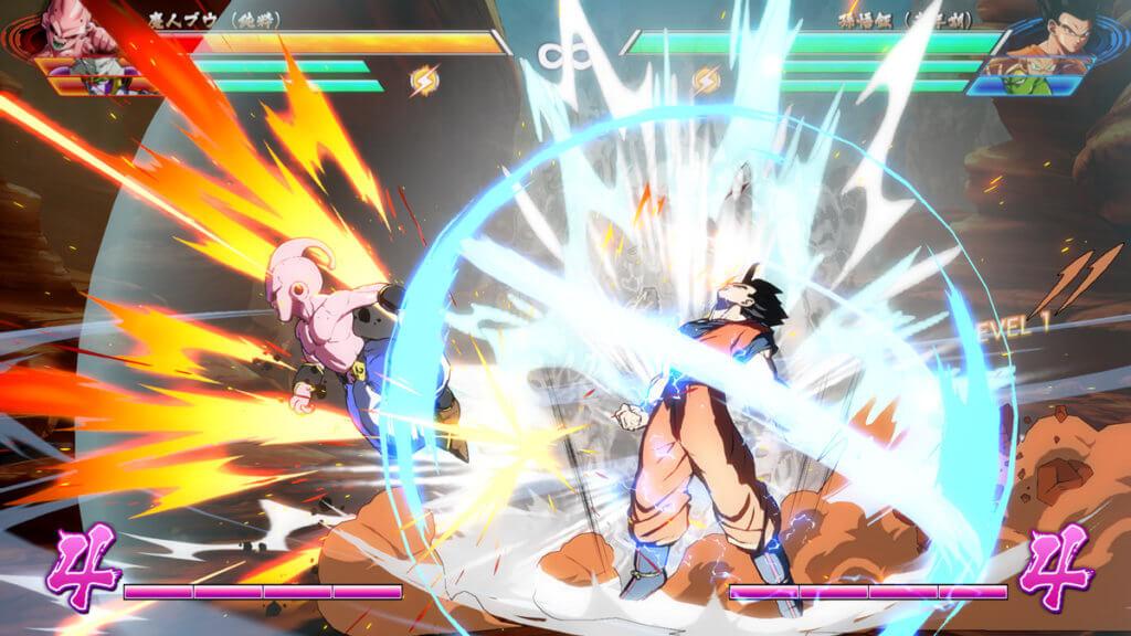 Dragon Ball FighterZ - Gokú vs Majin Buu