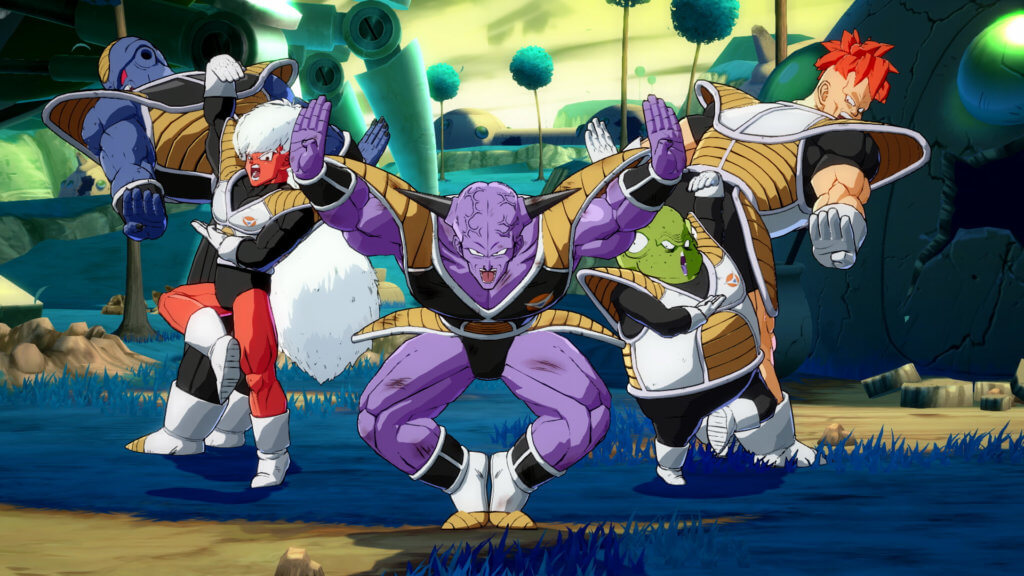 Dragon Ball FighterZ - Tropa Ginyu