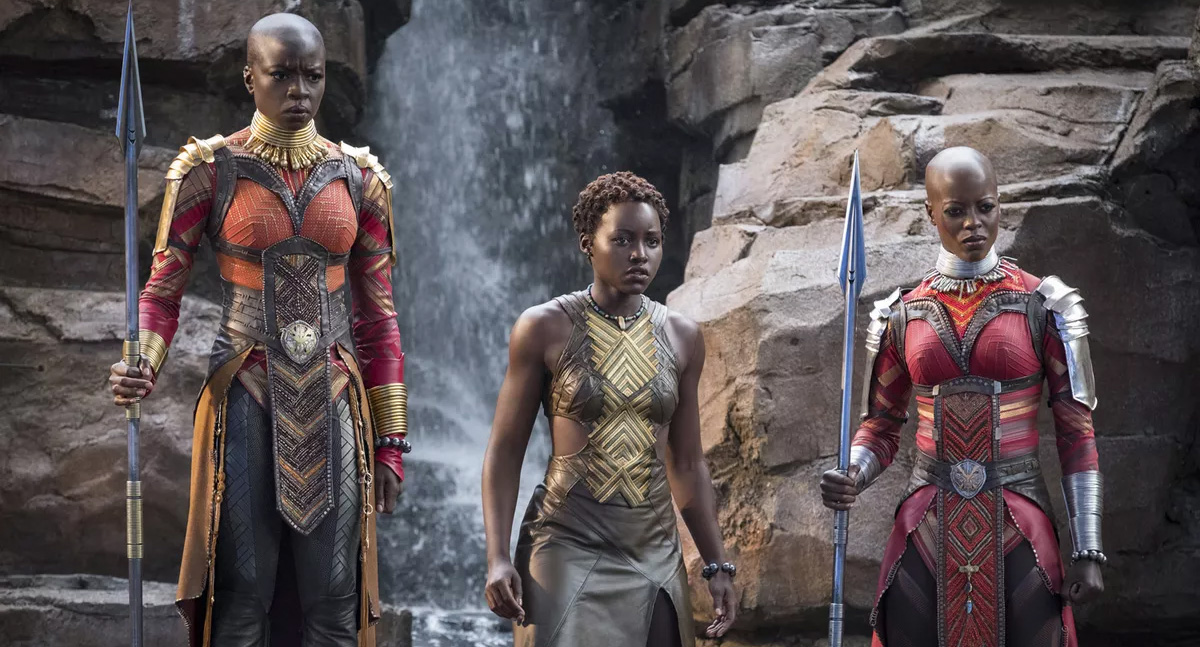 Nakia y Okoye - Black Panther