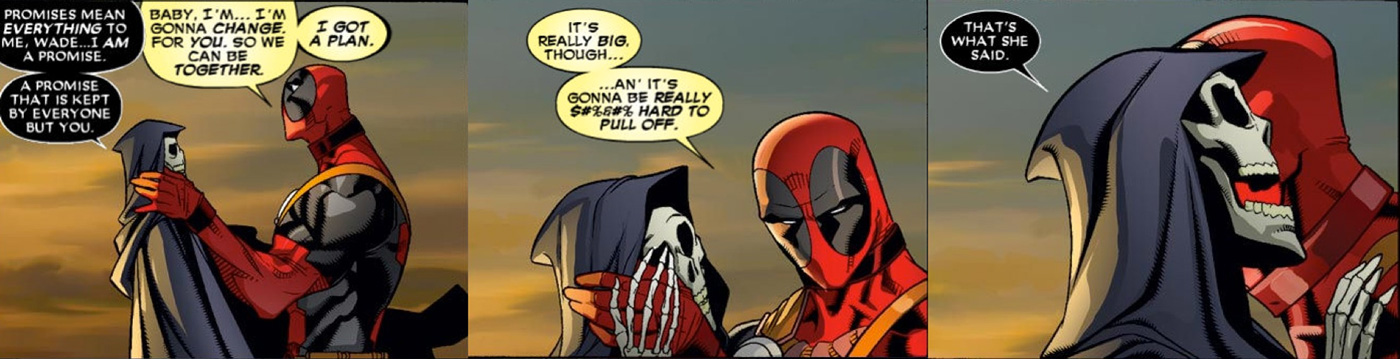 Deadpool Death - That's What She Said