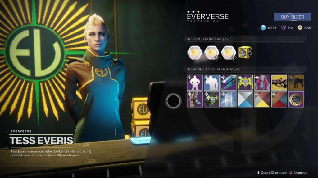 Destiny 2 - Warmind Expansion - Eververse