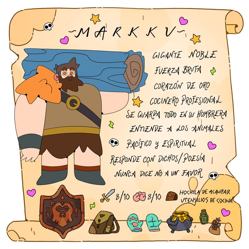Markku - Vikingos - Cartoon Network