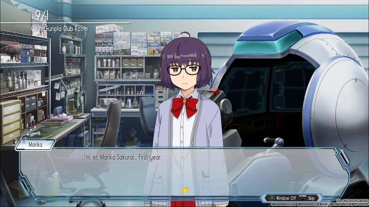 Marika Sakurai - New Gundam Breaker