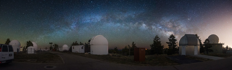 Observatorio astronómico Mount Lemmon Sky Center en Arizona, Estados Unidos
