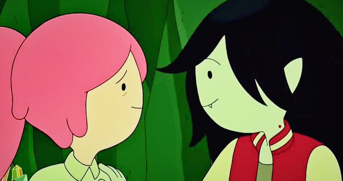 Bubblegum + Marceline = Bubbleline