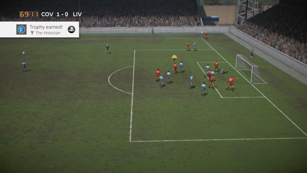 El modo histórico de FIFA 19.