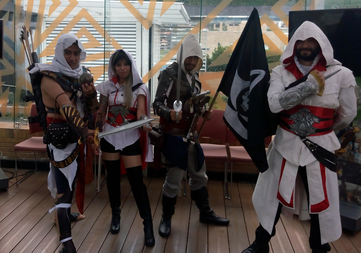 Assassin's Creed Colombia - cosplayers