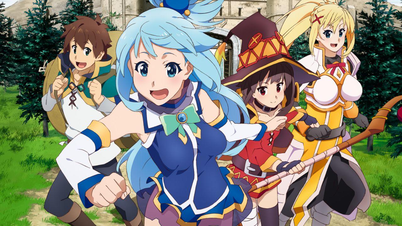 Nuestros recomendados de anime Isekai: Konosuba