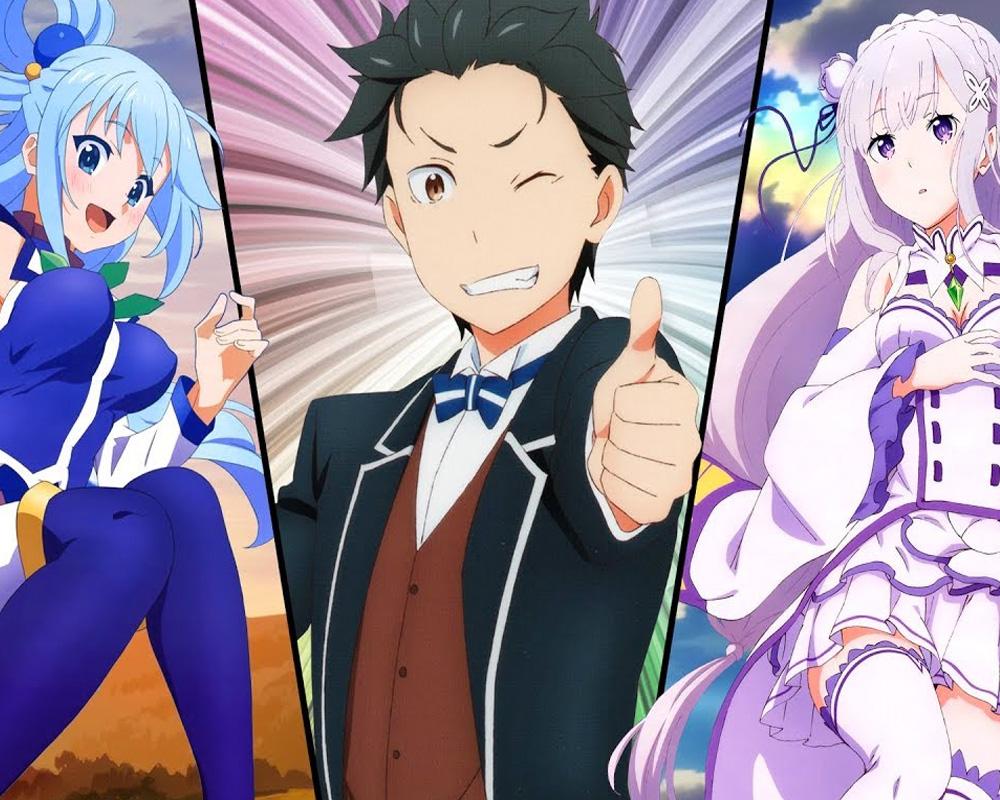 Nuestros recomendados anime del género Isekai