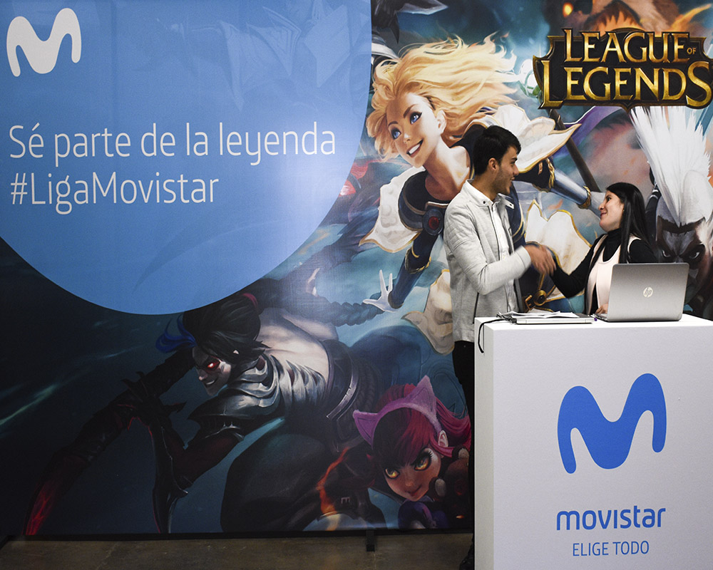 Movistar Arena abre sus puertas para la gran final de League of Legends