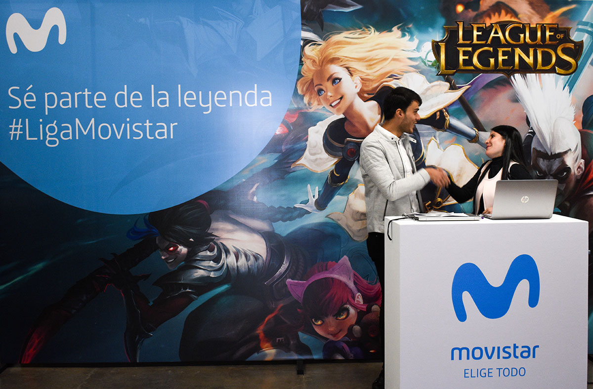 La apuesta de Movistar por promocionar los eSports en Latinoamérica arranca con la final de League of Legends en Colombia.