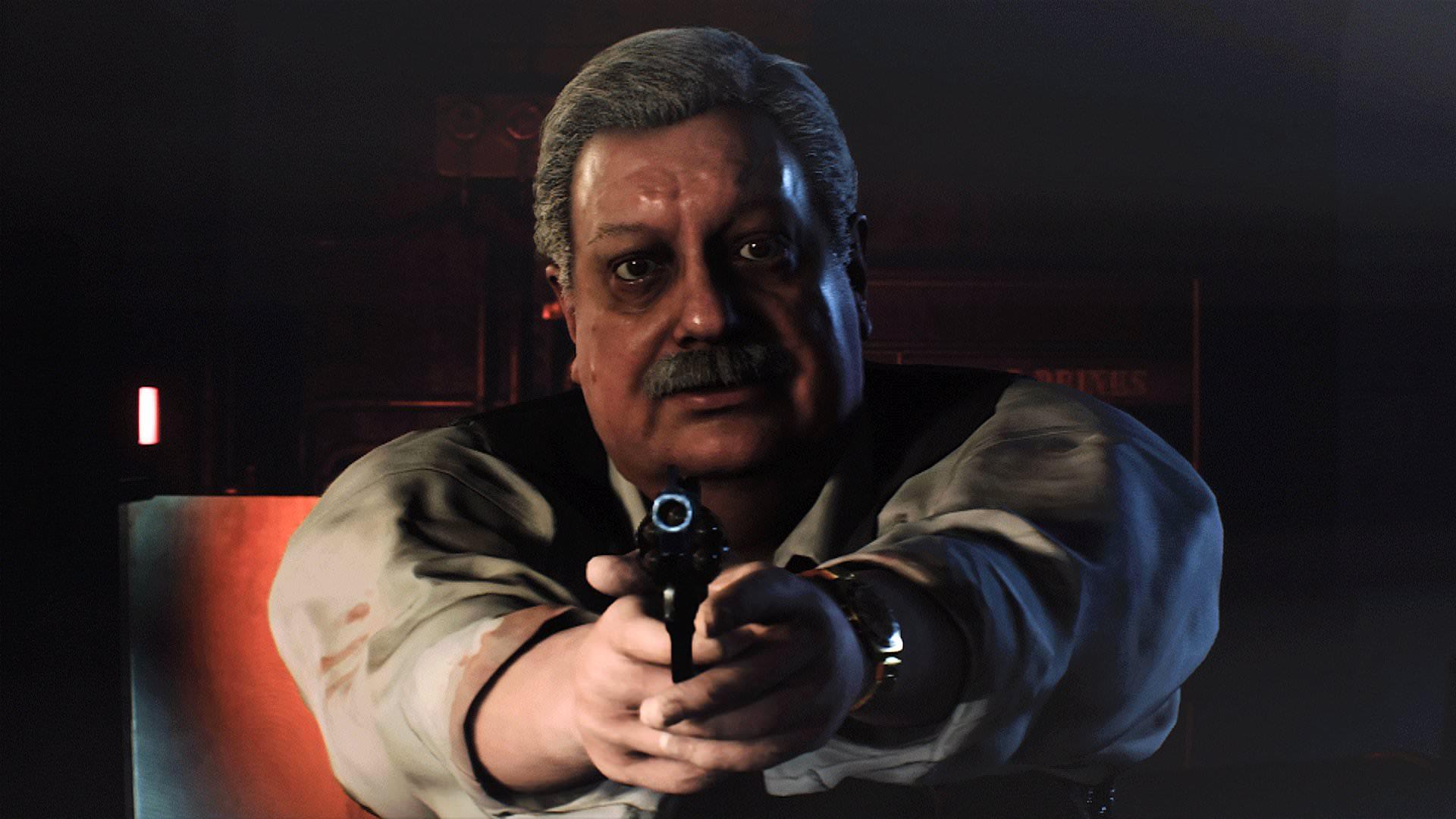Resident Evil 2 Remake - El Jefe Irons.
