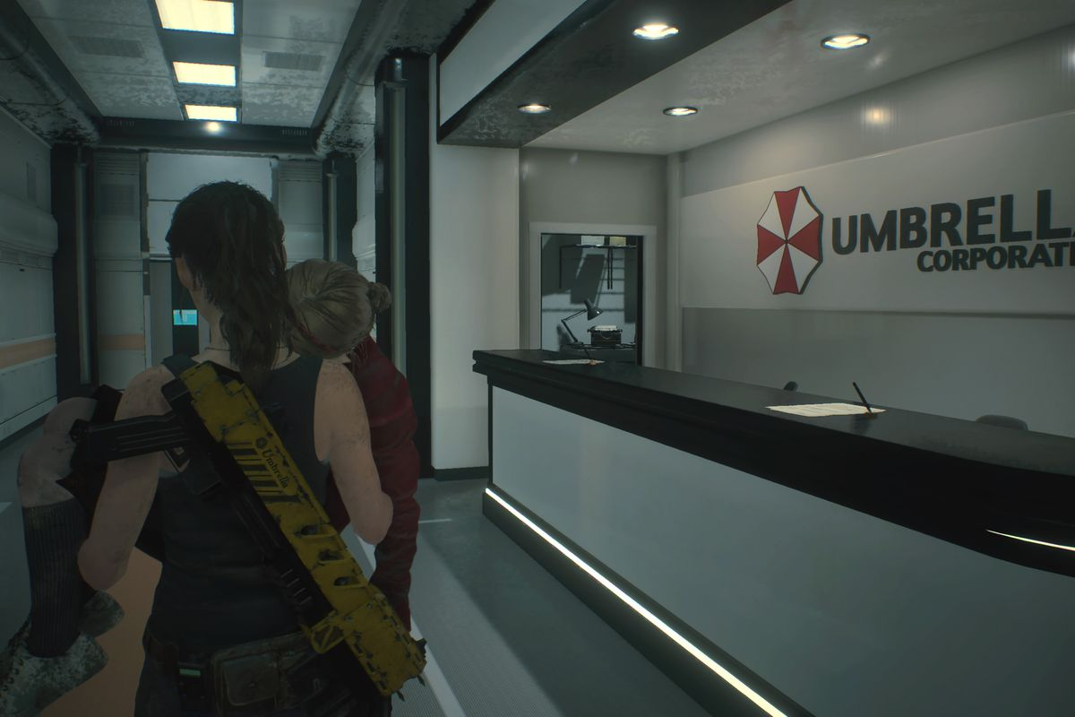 Resident Evil 2 Remake - Laboratorio de Umbrella Corporation