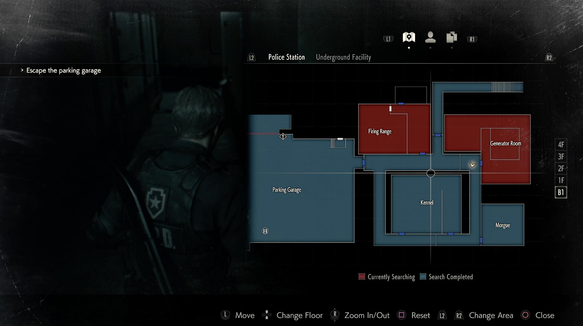Resident Evil 2 Remake - Mapas
