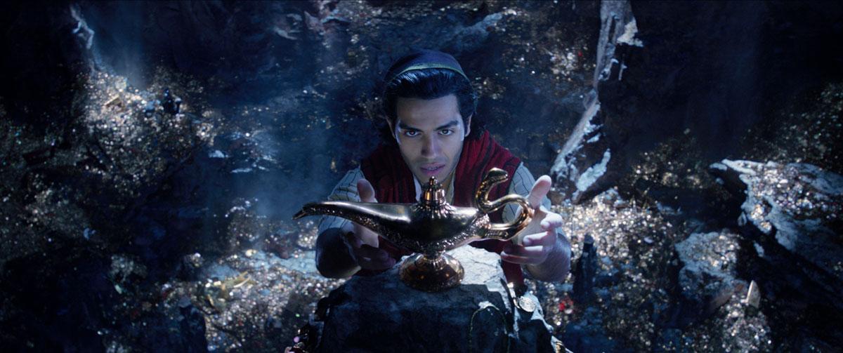 Aladdin en la Cueva