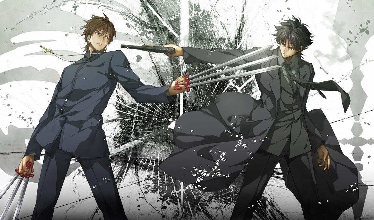 Fate Zero - Kotomine y Kiritsugu