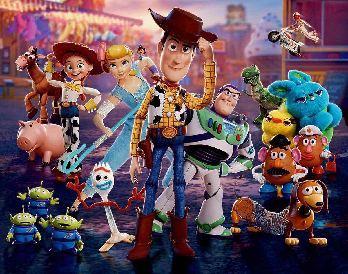 Toy Story 4 - Personajes