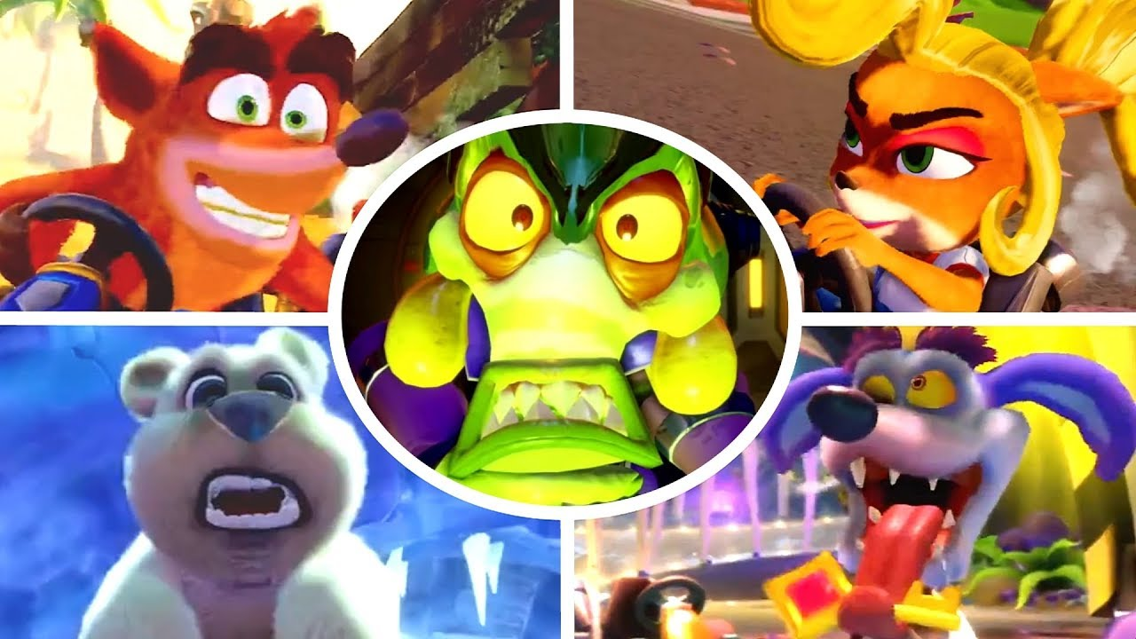 Crash Team Racing: Nitro Fueled - Personajes