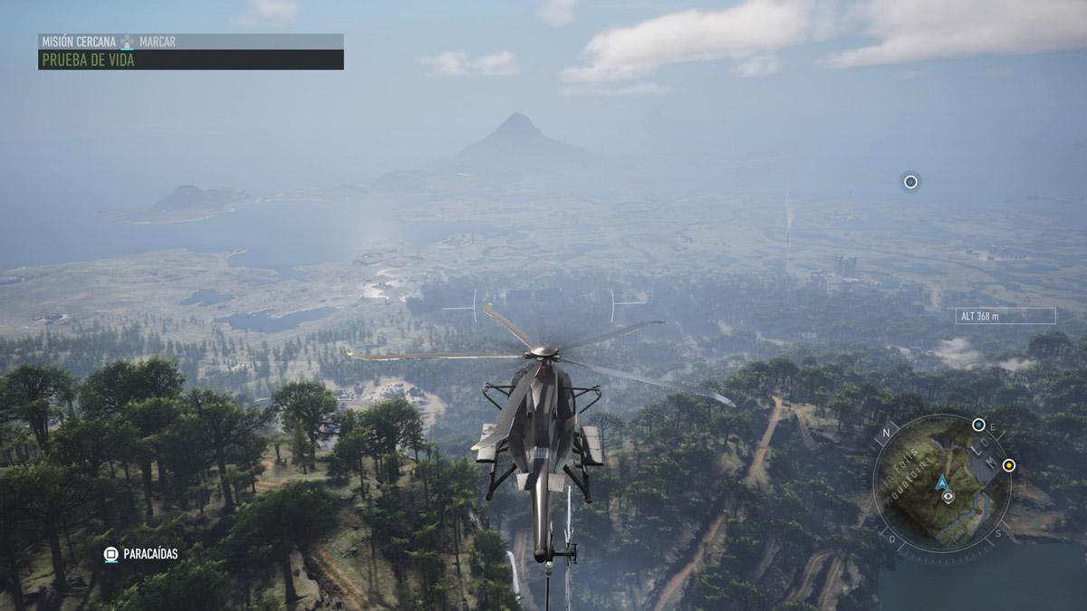 Ghost Recon Breakpoint - Inicio en el Helicóptero