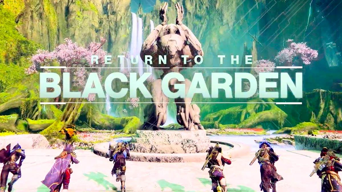 Destiny 2 - Return to the Black Garden