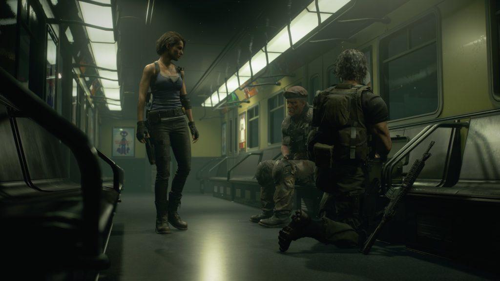 En el tren - Resident Evil 3 Remake