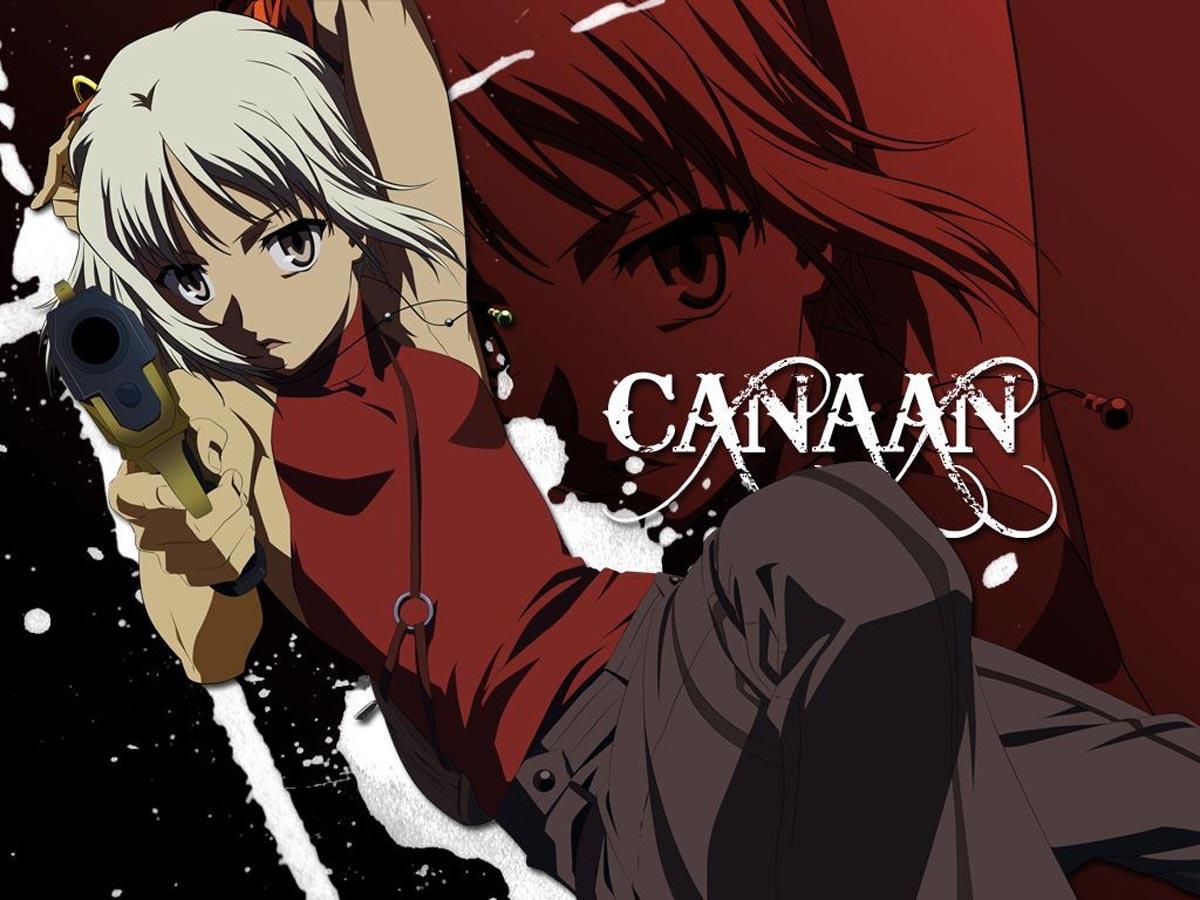 Canaan - Anime para pasar el Coronavirus