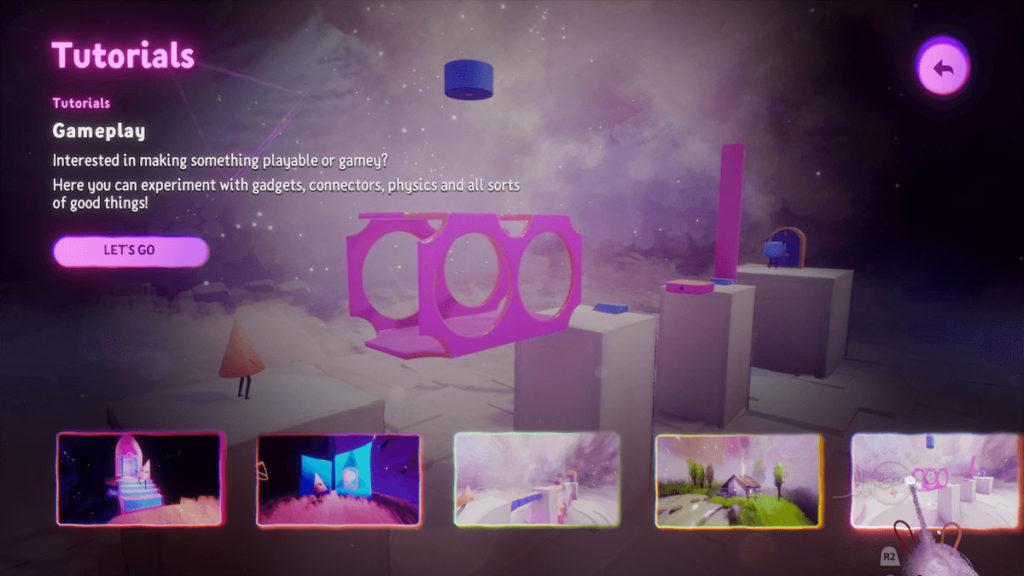 Reseña Dreams - PlayStation 4 - Tutorial