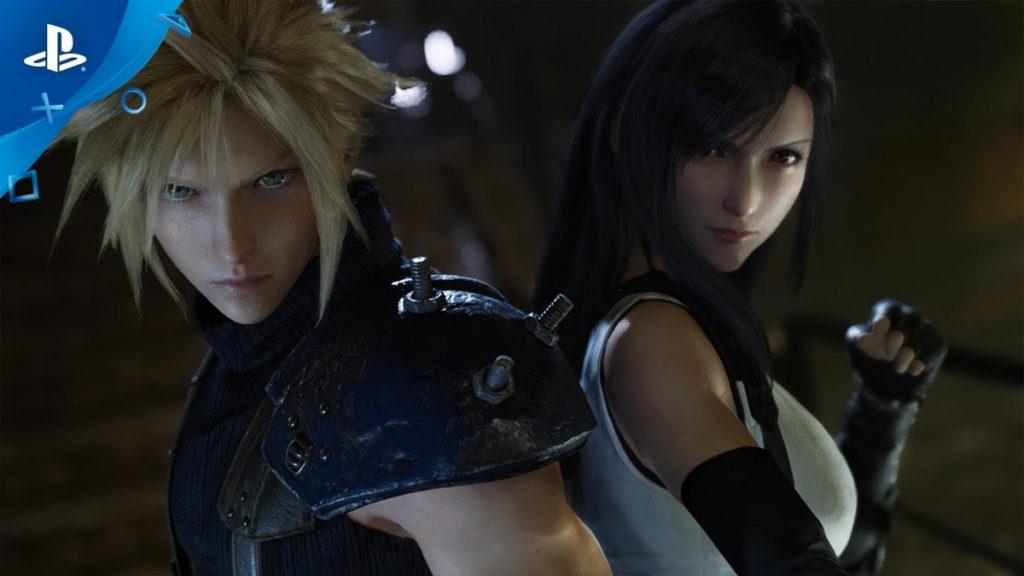 Las nuevas versiones de Cloud y Tifa en el Final Fantasy 7 Remake