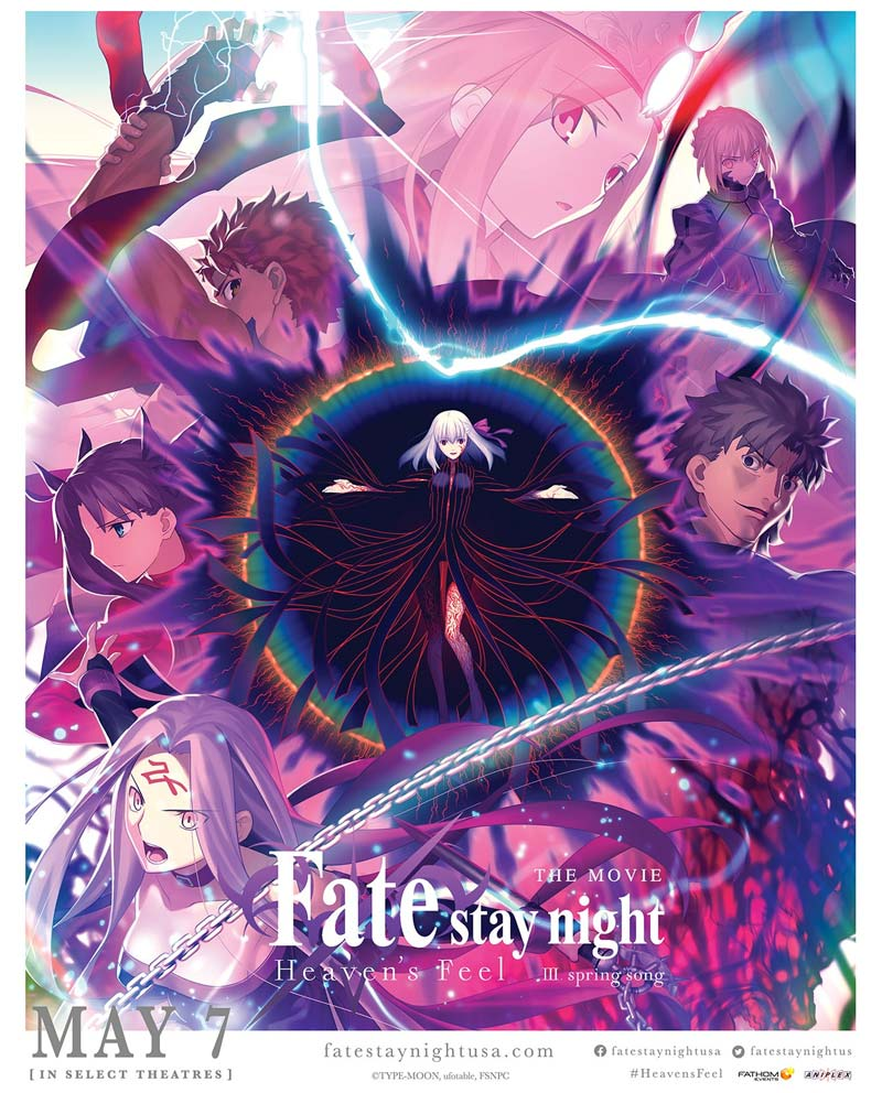 Fate Stay Night Heaven's Feel: Spring Song - Anime de Primavera 2020