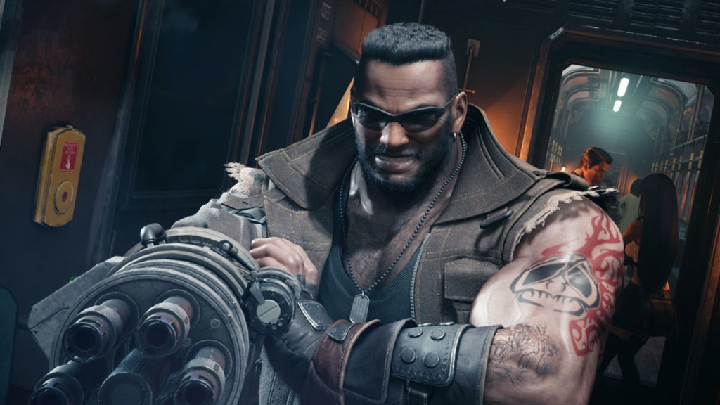 Final Fantasy 7 Remake - Barret