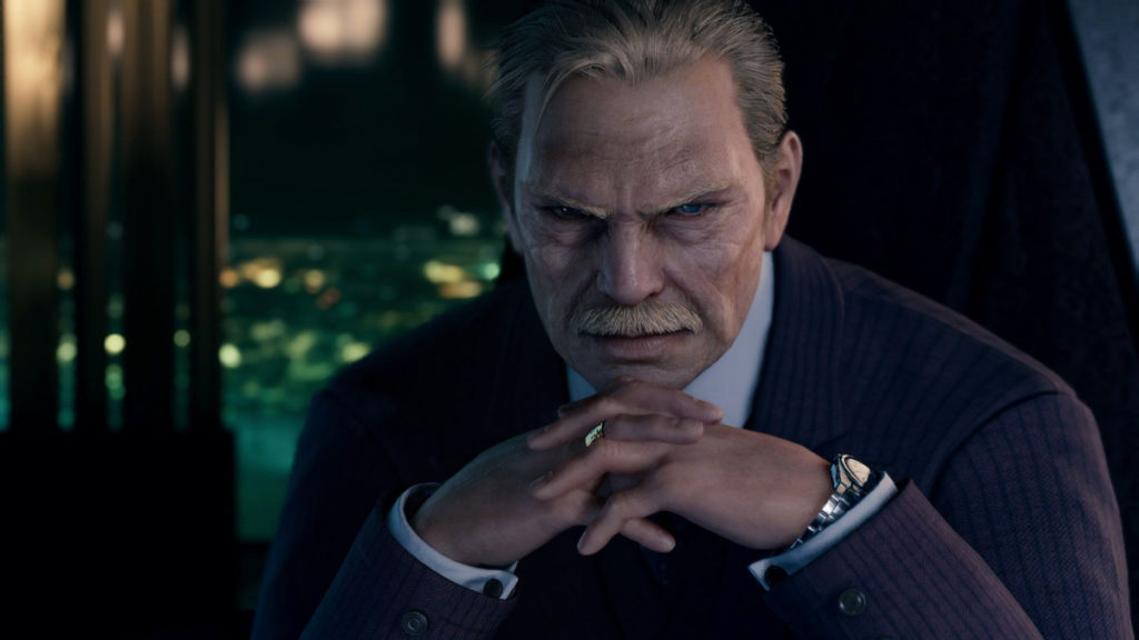 Final Fantasy 7 Remake - El Presidente de Shinra